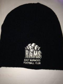 b707ba9d2e0f65 RAMS Beanie (Run out stock only) - East Burwood Football Club