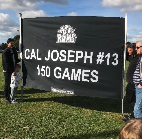 cal joseph 150 games