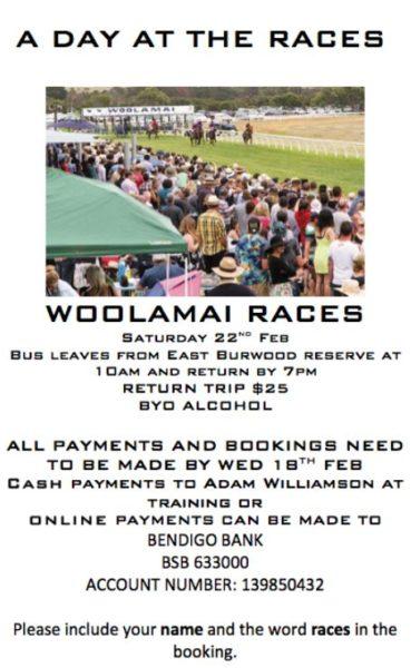 Woolamai Races
