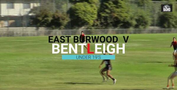 U19s vs Bentleigh