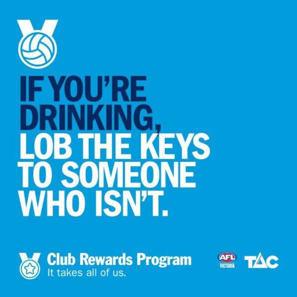 TAC lob the keys