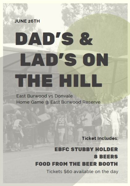 dads day on the hill