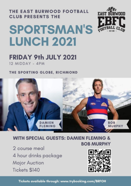 sportmans lunch - July 9th